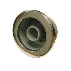 Sundance Spas Jet Part: Whirlpool Jet Eyeball with Stainless Steel Escutcheon