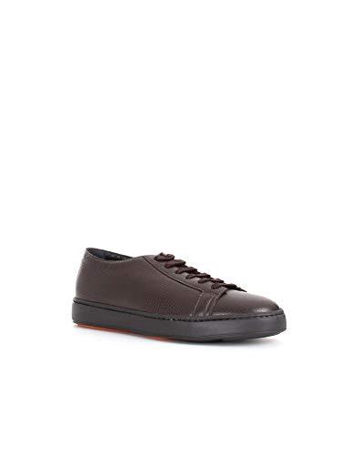 Mbcn20842na6raydt50 Sneakers pelle marrone Men in Santoni qS5wFxCS