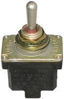 Toggle Switch (ON)-Off-(ON) 4PDT 10A @ 277V Screw Terminals by Honeywell