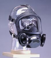 MSA LargeUltra-Twin Black Hycar Respirator With Nosecup And Speaking ()