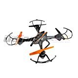 Falcon 3d Rc Helicopter - elegantstunning RC U842 6-Axis Gyro 2.4Ghz Falcon RC Quadcopter HD Camera, Black