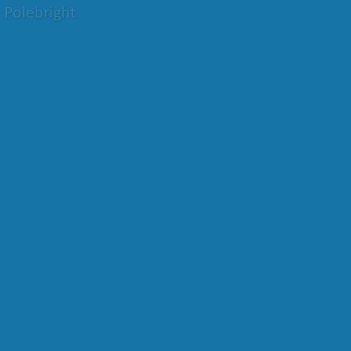 Fluorescent Lighting Sleeve/Tube Guard (E-Colour #E5207 Lyric Blue, 2' Long) - Polebright (Lyric Sleeve)
