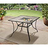 Mainstays Heritage Park 40 x 40 Dining Table