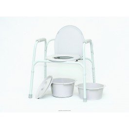 Deluxe All In One Commode - 8
