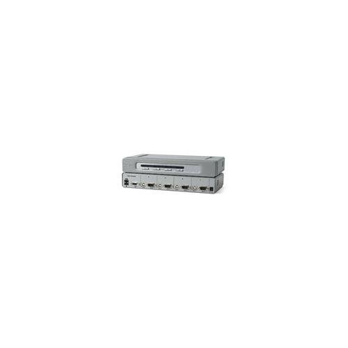 Belkin OmniView F1DN104U Secure 4-Port Rackmountable KVM Switch
