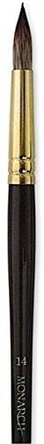 Winsor & Newton Monarch Brushes (Size: 14) - Round (Long Handle) 1 pcs sku# 1841969MA