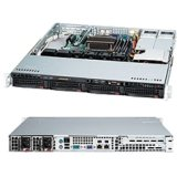 Supermicro SuperChassis CSE-813MTQ-R400CB - 400W Redundant Power SUPPLIES,4X 3.5 Inch Hot-swap SAS2 (6GB/S) / Sata Drive Bay