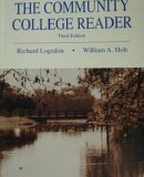 Community College Reader, Richard Logsdon, William A Holt, 0808775308