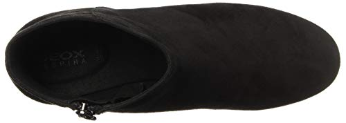 C9999 D D black Mid Femme Botines Noir Geox Seylise SvBqwB7