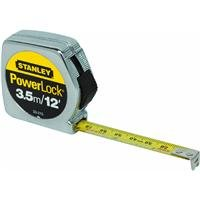 Stanley 33-231 3-Meter x 1/2-Inch Heavy Duty Powerlock Tape Rule With Metal Case by Stanley