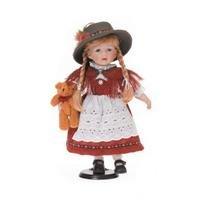 R.Faelens Kunstgew. GmbH Porcellana di ragazza tradizionale, ca. 40cm