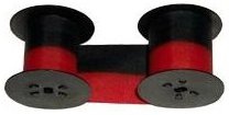 Lathem Replacement Ribbon for 7-2CN Black/Red
