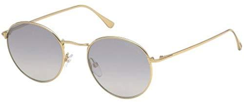 - Tom Ford RYAN-02 FT 0649 SHINY GOLD/SILVER GREY 52/20/145 unisex Sunglasses