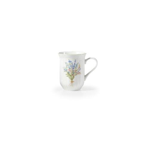 Mikasa Teacup - Mikasa Botanical Bouquet Coffee Mug, 14-Ounce