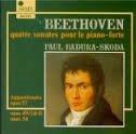 Beethoven Quatre Sonates Pour Le Piano Forte / Paul Badura-Skoda / Classical Music CD