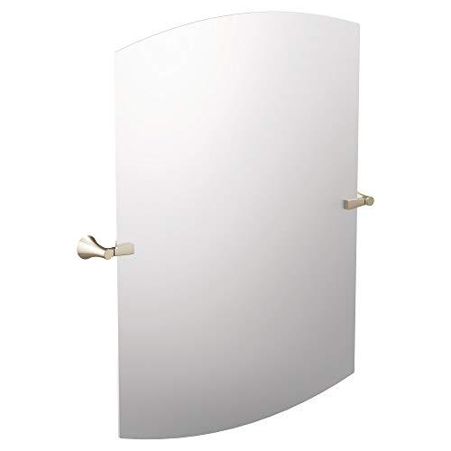 Moen YB0390NL Flara Square Bathroom Tilting Mirror, Polished -