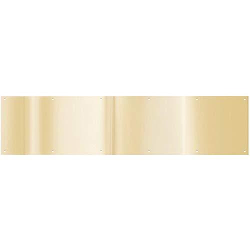 National Hardware N244-079 V1996 Kickplates in Brass , 8