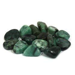 CrystalAge Emerald Tumble Stone (15-20mm) - Single Stone