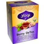 Yogi Herbal Tea Bags, Berry DeTox 16 ea