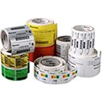 Intermec E15536 Direct Thermal Duratherm III Top-Coated Label for Printing Media, Perforated, 4 W x 2.5 L, 1 Core, 5 OD