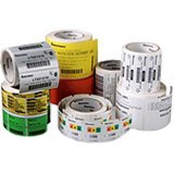 Duratran kimdura thermal transfer labels (4.0 in. x 2.5 in. - perforated, 4 rolls-case)