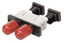 LINDY Fiber Optic Adapter ST to SC Multi-mode, Metal Ferrule (70461)