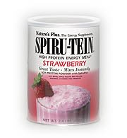 Nature's Plus – Spiru-Tein Strawberry Flavor, 2.4 lb powder, Health Care Stuffs
