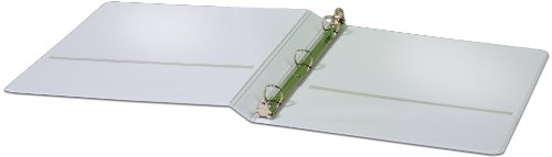 (Cardinal Heavy Duty ClearVue Round Ring Binder, 5/8-Inch, White (49003))