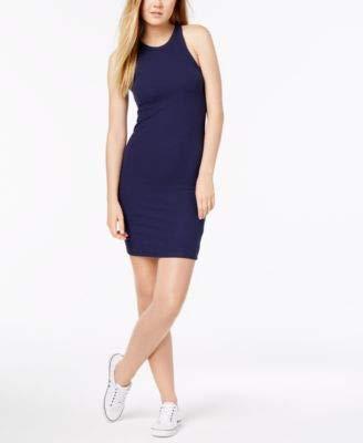 Calvin Klein Women's Ribbed Knit Tank Sheath Dress Blues