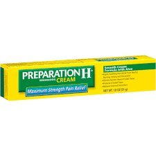 Preparation H Cream with Maximum Strength Pain Relief - 6 box per pack -- 6 packs per case. by Preparation H