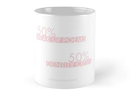 break up poems identity crisis 11oz Mug - Made from Ceramic - Great gift for family and friends
