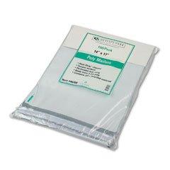 Quality Park 46200 Quality Park Redi-Strip Jumbo Poly Mailers, Recycled, 14x17, White, 100/Pk