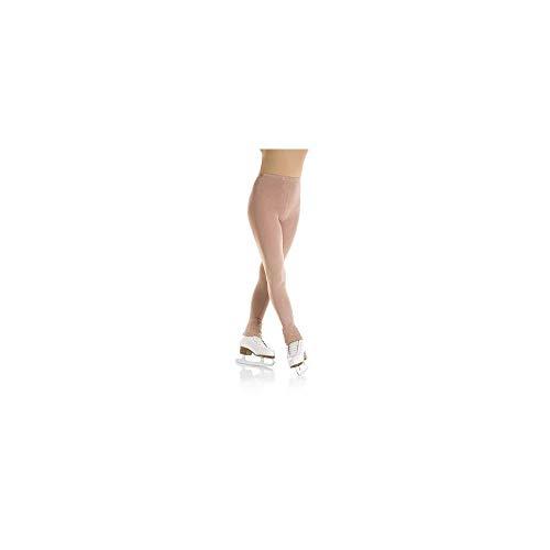 Mondor 3373 Women/'s Size Small Suntan Footless Skating Tights