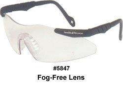 Smith & Wesson SW152FFCI Safety Glasses, Fog-Free Clear ()
