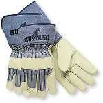 Mustang Grain Leather - Mustang Prem Grain Leather Palm 4.5, PK12 by Memphis Glove