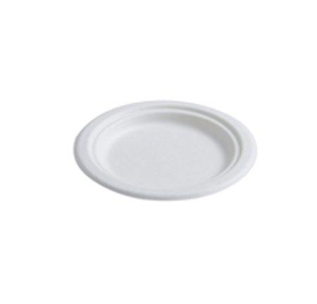 Pack de 125 platos orgánicos desechables ecológicos - hecho de ...