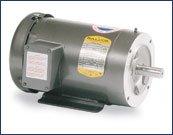 Baldor CM3555/35 General Purpose AC Motor, 3 Phase, 56C Frame, TEFC Enclosure, 2Hp Output, 3450rpm, 60Hz, 208-230/460V Voltage