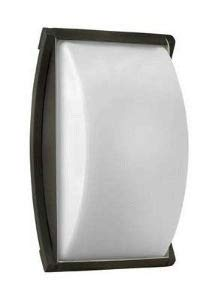 Hinkley 1650TT-LED Atlantis - One Light Small Outdoor Wall Mount, Titanium Finish with Cased Opal Glass