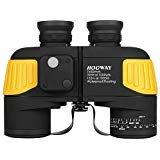 Best Marine Binoculars - Hooway 7x50 Waterproof Fogproof Military Marine Binoculars w/ Review