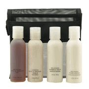 Credentials Relaxing Bath & Shower Travel Kit 4 pc. Set