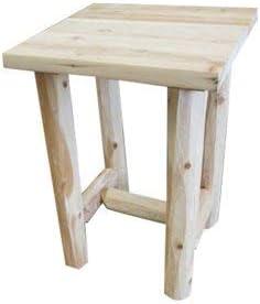 Midwest Log Furniture - Log Economy Nightstand