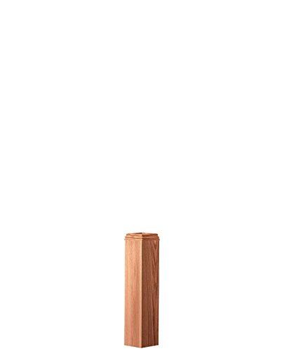 LJ-4175SL-O: Box Newel Base Wrap (Red Oak) (Newel Base)