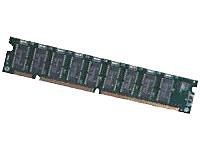 Kingston 1 GB ValueRAM Memory, DIMM 168-pin, SDRAM, 133 MHz / PC133 - CL3 - 3.3 V - Registered - ECC (846952) Category: Desktop Memory - Dimm 168 Pin Registered