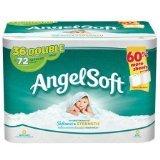 Angel Soft, Toilet Paper 36 Double Rolls, Bath Tissue (1)