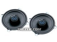"Audiobahn AS50Q 5.25"" 2-Way Coupled Component Speaker (PAIR)"