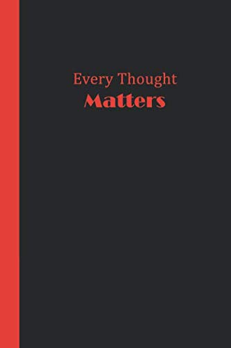 Sketchbook: Every Thought Matters