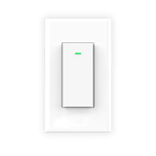 meross Smart WiFi 3-Way Switch, Compatible with Alexa, Google Assistant and IFTTT, Easy In-Wall Installation (3-Way Only), No Hub Required, Control From Anywhere – MSS550