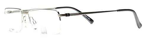 Eyeglasses Dunhill D2022 A tatanium semi rimless frame - Glasses Dunhill