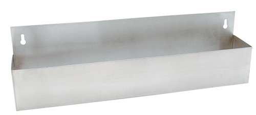(Price/EA)Speed Rail/Bottle Holder, 22'' Long, Stainless Steel