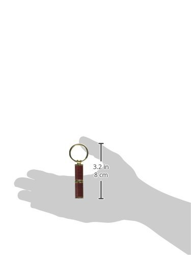Quality Importers Trading Bullet Punch Cigar Cutter Keychain, Rosewood Finish by Quality Importers Trading (Image #2)